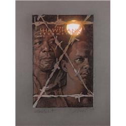 Original artwork for The Shawshank Redemption