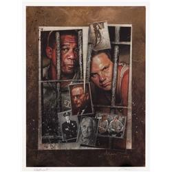 Original artwork for The Shawshank Redemption poster