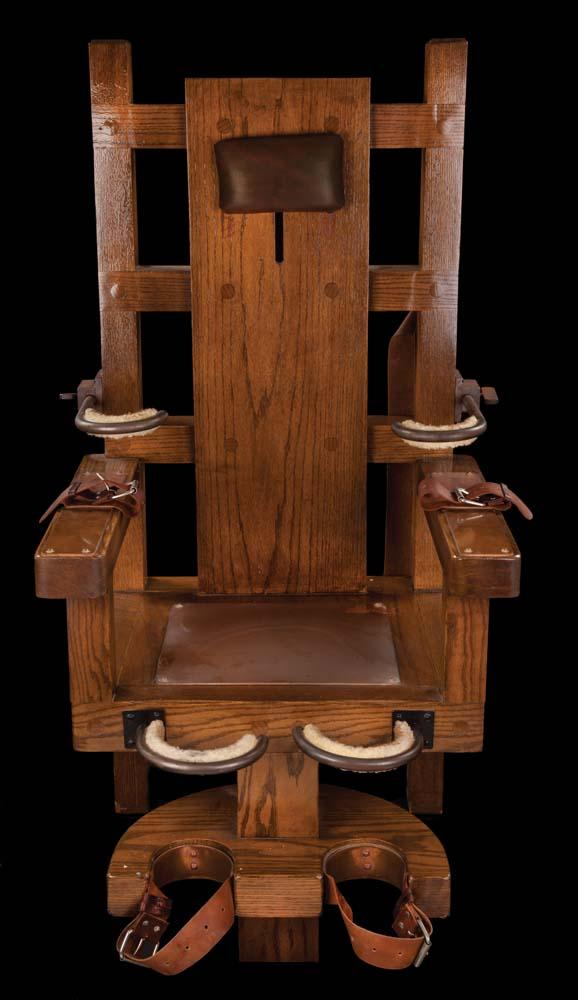 Image 1 : Electric chair from The Green Mile ... - Electric Chair From. Antique  Electric Chair For Sale ... - Antique Electric Chair For Sale Antique Furniture