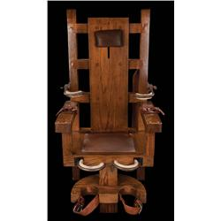 Electric chair from The Green Mile
