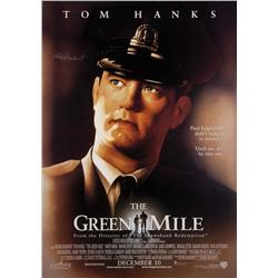 The Green Mile unique one-sheet poster enlargement signed by Frank Darabont