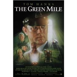 The Green Mile one-sheet poster signed by Frank Darabont