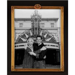 "Hero scrn-used photo of Jim Carrey ""Peter Appleton"" & Martin Landau ""Harry Trimble"" frm The Majestic"