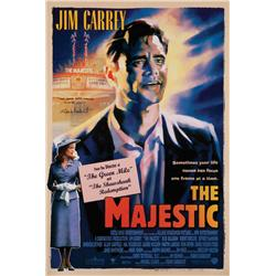 The Majestic one-sheet poster signed by Frank Darabont