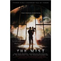 The Mist one-sheet poster signed by Frank Darabont