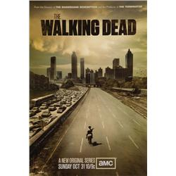 The Walking Dead one-sheet poster signed by Frank Darabont
