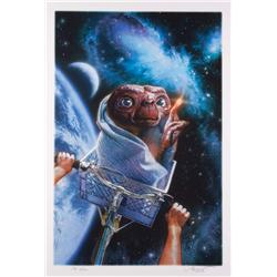 E.T.: The Extra-Terrestrial parks art