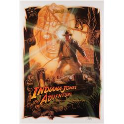 Indiana Jones Adventure Disneyland Parks poster