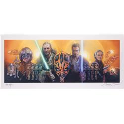 Star Wars: Episode I – The Phantom Menace TV Guide cover art (4 covers)