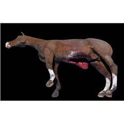 Animatronic horse corpse puppet from The Walking Dead