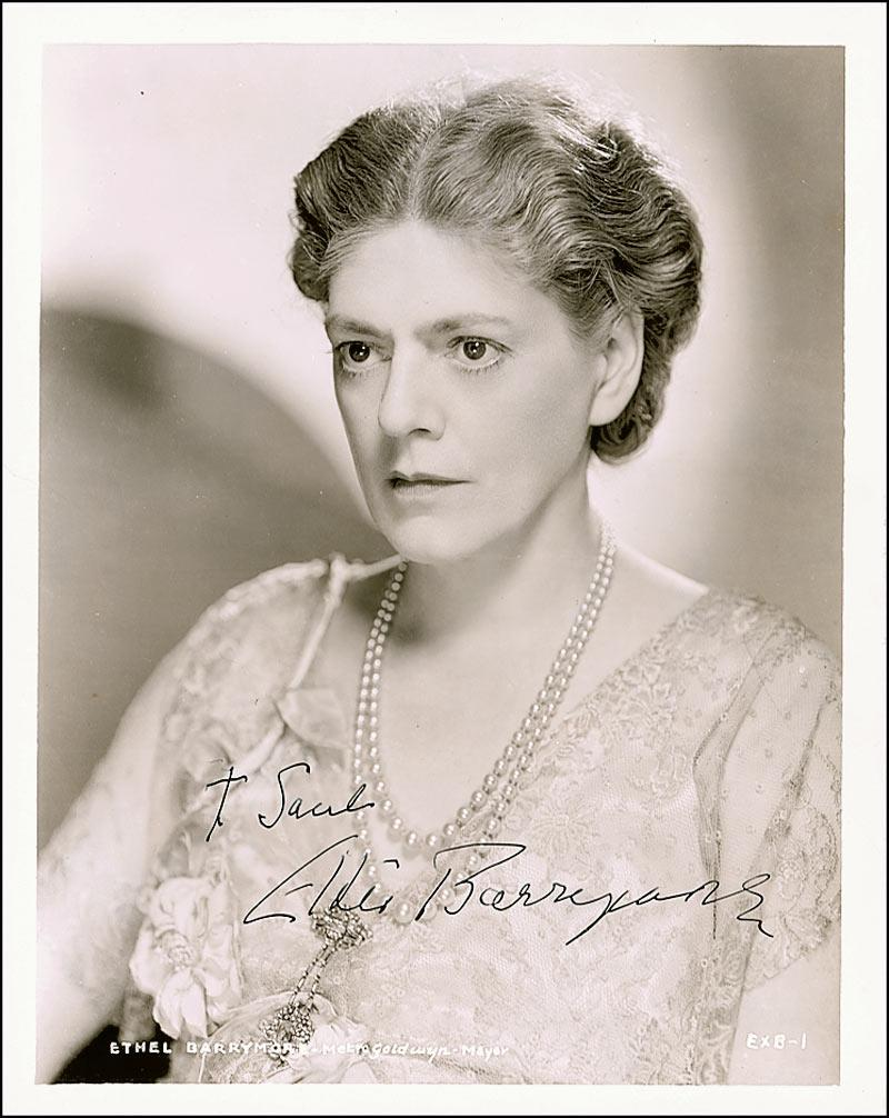 Watch Ethel Barrymore video