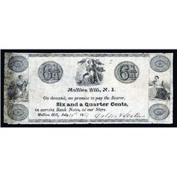 Colson &amp; Stratton Obsolete Scrip Note.