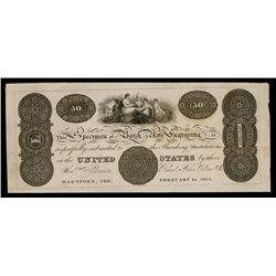 Reed, Stiles, Pelton & Co., Banknote Engravers Advertising Banknote.