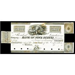 Bank of Nova Scotia Proof Obsolete.