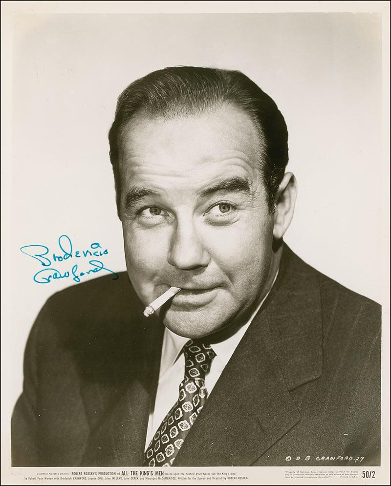 broderick crawford born yesterday
