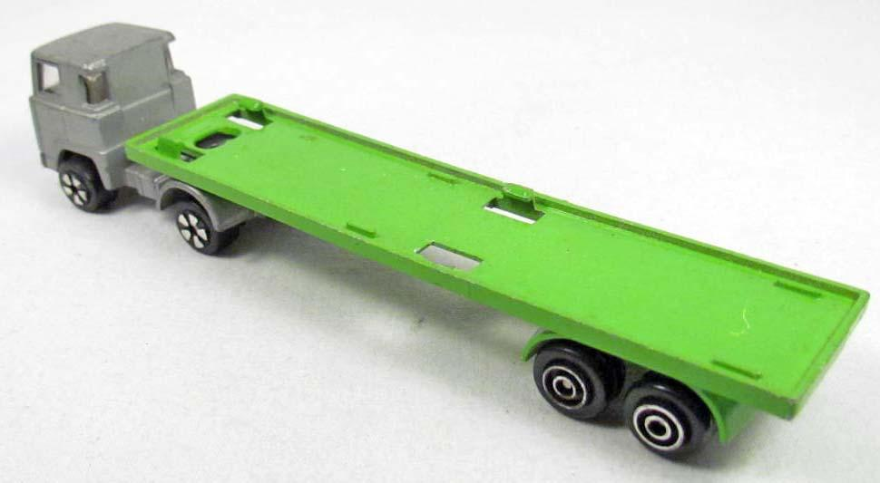 Toy Semi Trucks And Trailers : Playart die cast semi toy truck and trailer