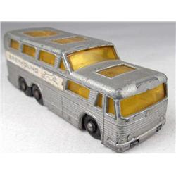 MATCHBOX SERIES NO. 66 COACH METAL TOY GREYHOUND BUS