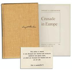 Eisenhower ''Crusade in Europe'' Signed