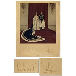 Queen Elizabeth II Signed Photo
