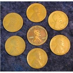 362. (7) 1915 P Lincoln Cents.