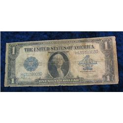 378. Series 1923 U.S. One Dollar Silver Certificate. Signed Speelman
