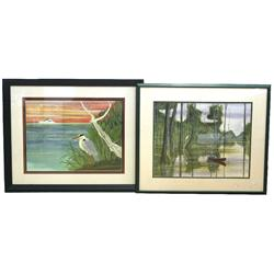 J RANDY SMITH- PAIR OF LIMITED EDITION PRINTS