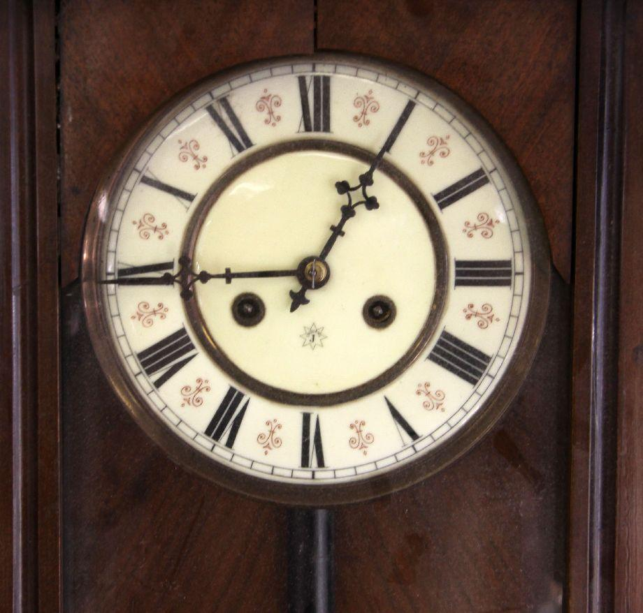 Late 19th century unghans german wall clock amipublicfo Images