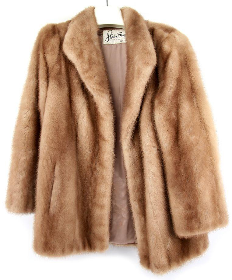 VINTAGE MINK FUR COAT STANLEY BROWN COLLECTION
