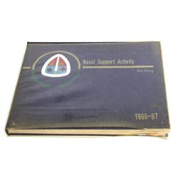 VIETNAM DA NANG 1966 NAVAL SUPPORT NSA YEAR BOOK