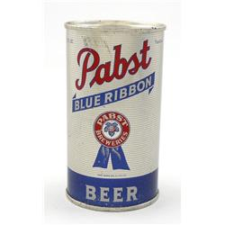 Pabst Blue Ribbon Flat-Top Beer Can