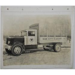 Westinghouse Delivery Truck Photo - 1929 Relay