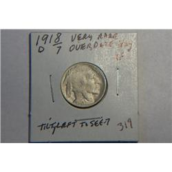 1918/7 D BUFFALO NICKEL