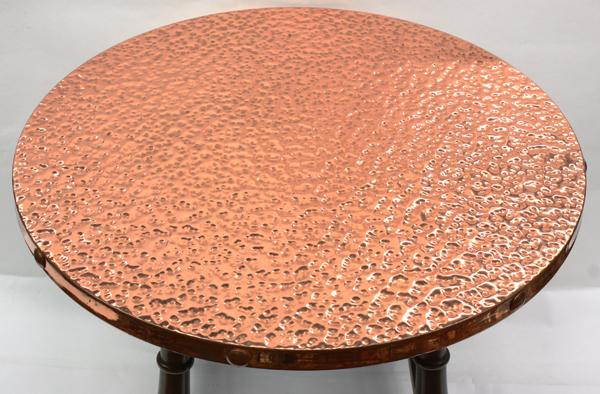 ... Image 2 : Arts And Crafts Copper Top Table