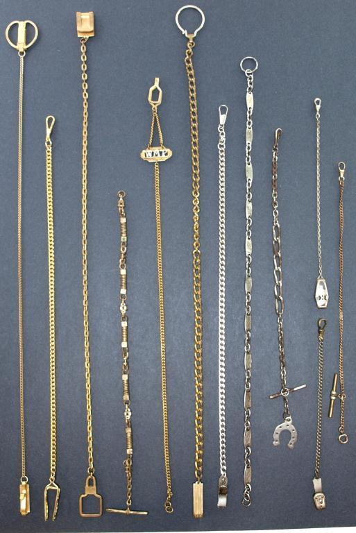 Collection Of Antique Watch Chains