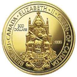 300 Dollars gold 14K 2003 Canada's Great Seal, only 998 minted.