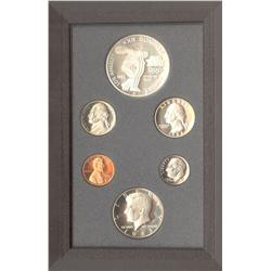 USA Proof Set 1983S of 6 coins that include 1c, 5c, 10c, 25c, 50c & Olympic Dollar.