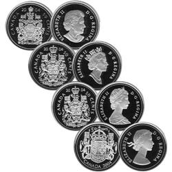 50 Cents Proof 2004 Set of 4 Coins Armory and Effigy.