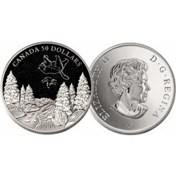 50 Dollars 2006 Constellations Big and Small Dippers positioned in the sky at each saison. Each coin