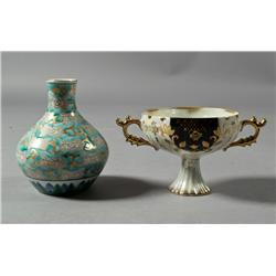(2) Pieces of Fine Japanese Porcelain