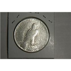 1924 S PEACE DOLLAR