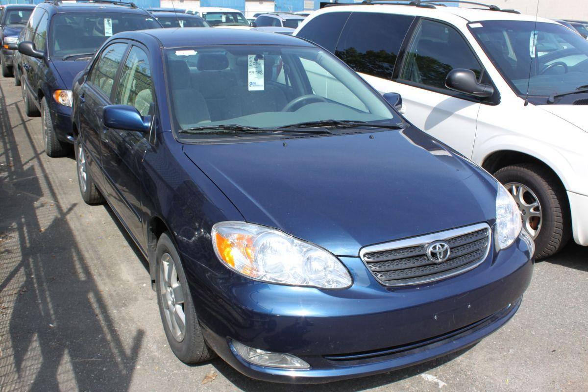 2006 blue toyota corolla le 4dr sedan. Black Bedroom Furniture Sets. Home Design Ideas
