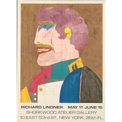 Richard Lindner : Shorewood Exhibition Art Print