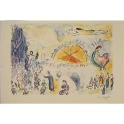 Marc Chagall: Four Seasons Art Print Ed. 2000