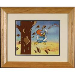 Woody Woodpecker Ha Ha Ha Ltd Ed Sericel w/COA Framed