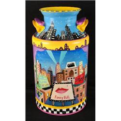 Linnea Pergola Original Milk Can 42nd Street New York