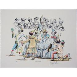 Wayne Howell Doctor Clowns Medical INTERNS Art Print