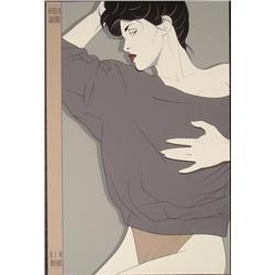 Patrick Nagel Bergen Galleries, New Orleans Art Print
