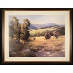 Jennie Tomao Landscape Large Framed Art Print