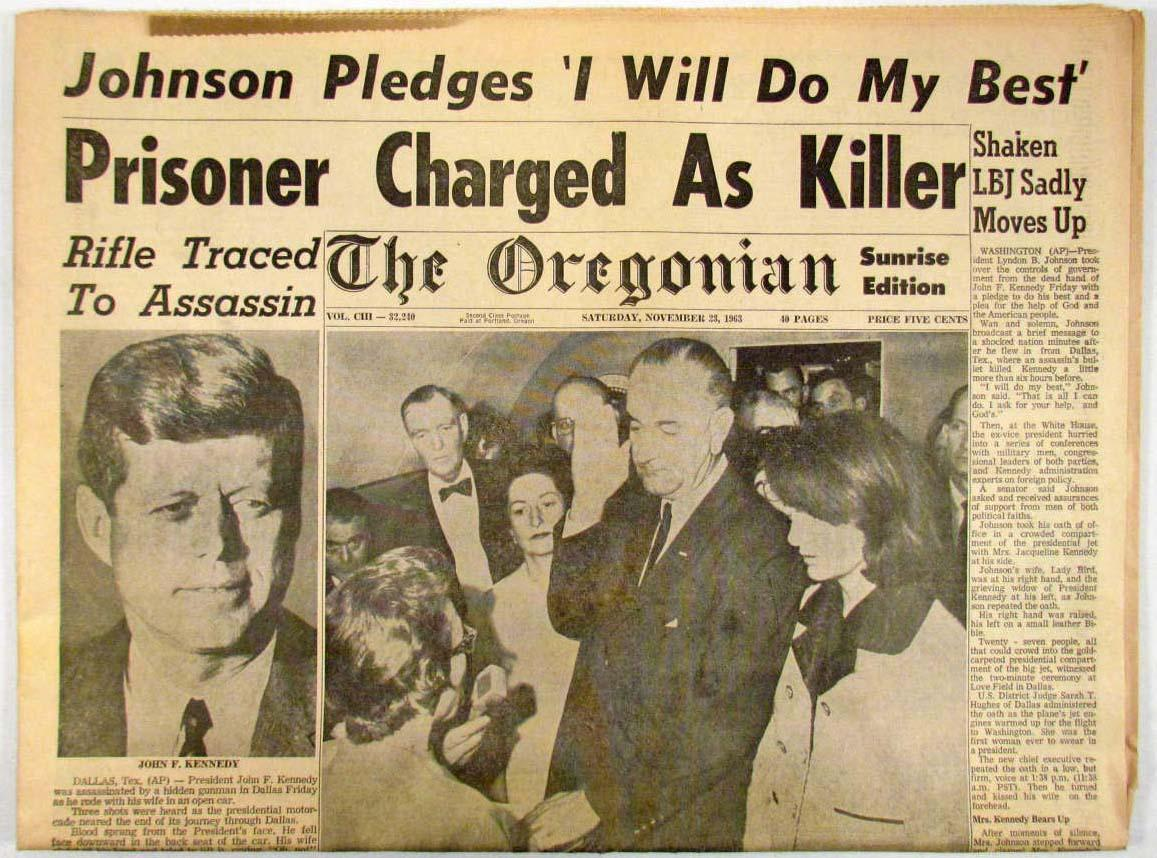 an introduction to the history of assassination of jfk Section 1: introduction introduction i will be trying to do three things in this seminar (1) i will be looking at developing a strategy for making teachin.
