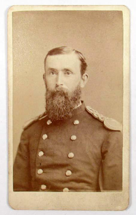 Image 1 US INDIAN WARS 7TH CUSTER CAVALRY OFFICER CARTE DE VISITE PHOTO